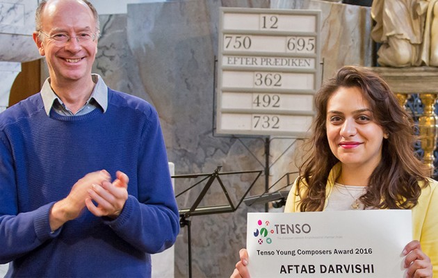 Tenso Young Composers Award for Aftab Darvishi