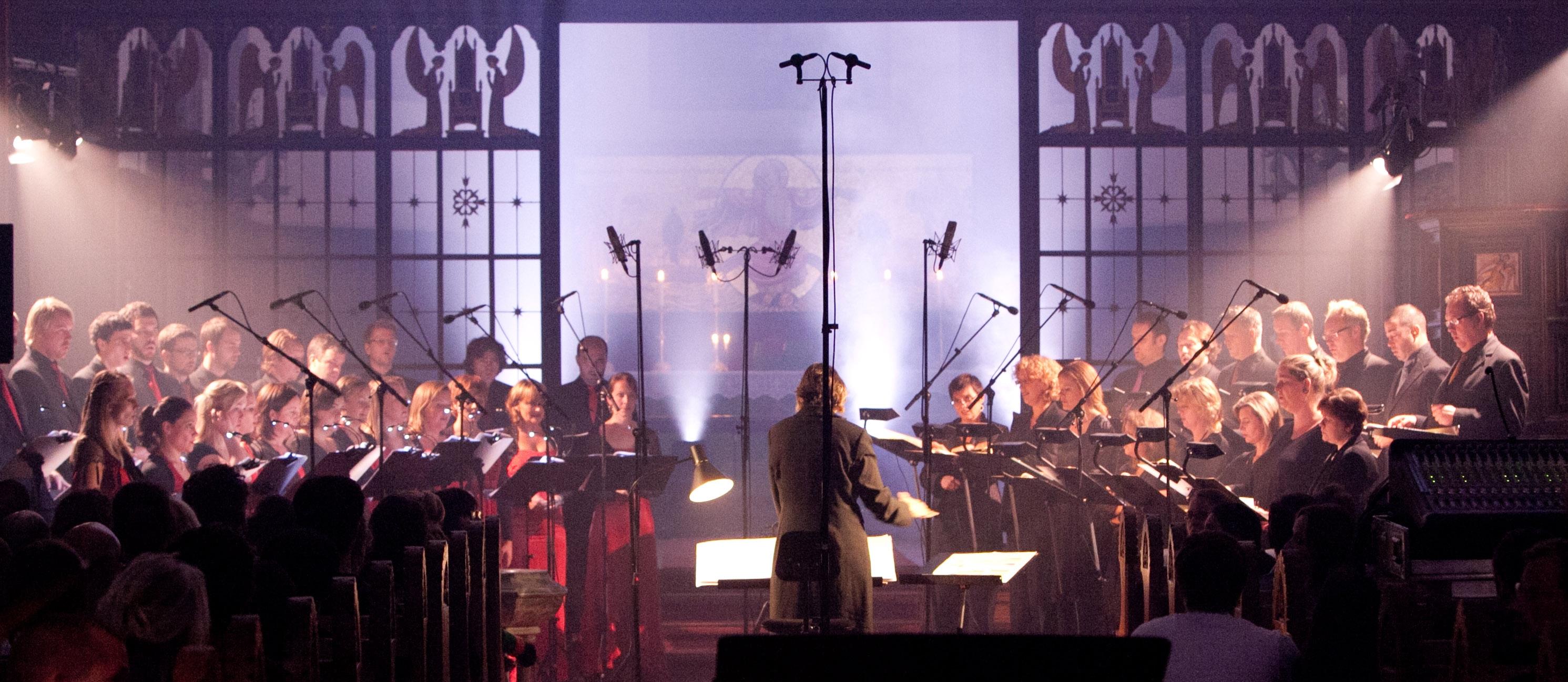 Det Norske Solistkor and Nederlands Kamerkoor perform at Tenso Days 2010 in Oslo