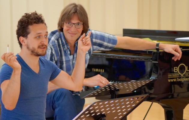 Georgi Sztojanov and Kaspars Putnins